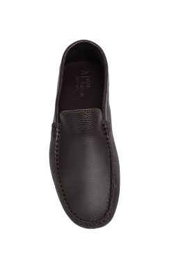 choccolate brown Mocassin  for children
