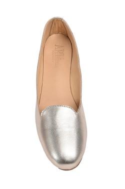 Platinum Coloured Slipper for Women