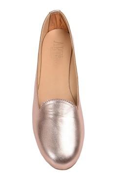 Gold Rose Coloured Slipper for Women