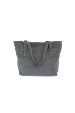 Borsa Bag scamosciata color grigio