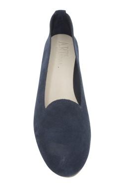 Pantofolina donna scamosciata blu