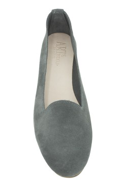 Grey Suede  Slipper for Women