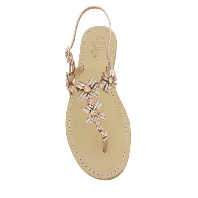 disponibilità nel Regno Unito c8311 921ca Sandali gioiello Margherita infradito color rame