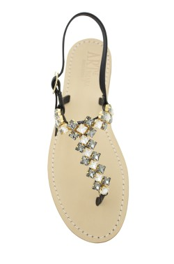 "Black  Coloured Jewel Sandal ""Cleopatra"""