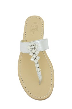 Sandalo gioiello Dea colore argento