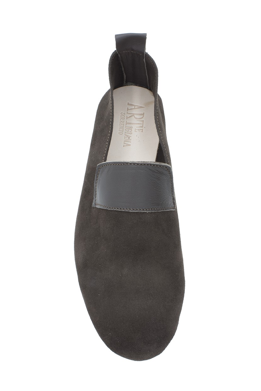 suede calfskin leather shoes