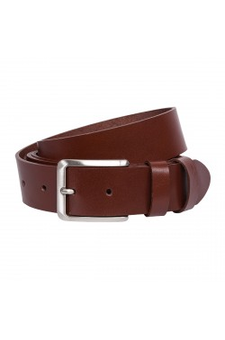 Brown Leather Grease Natural  Leather Belt