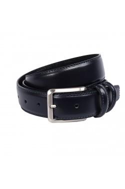 Blue Grease Natural  Leather Belt