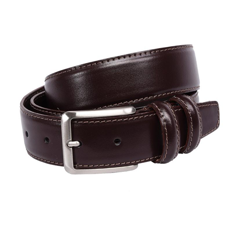 Cintura in vitello color cioccolato