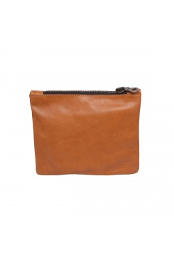 Leather Brown Natural Calf Leather Hold Everything Case