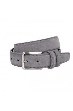 Cintura scamosciata color grigio