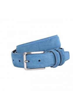 Cintura scamosciata jeans