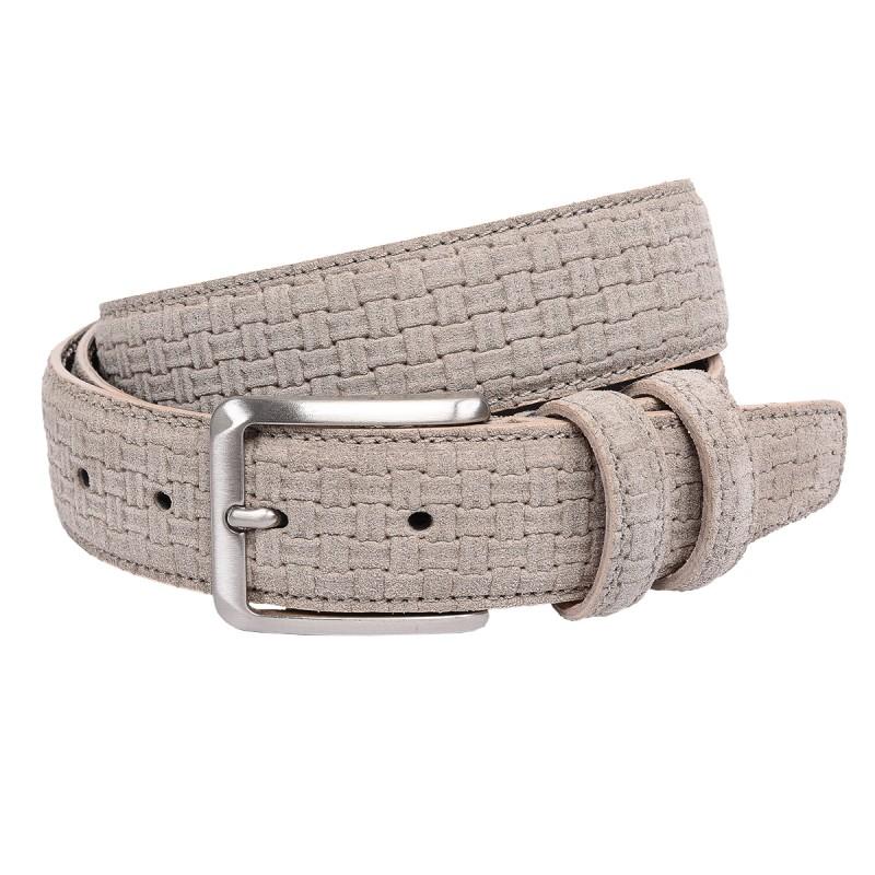 Cintura intrecciata color beige