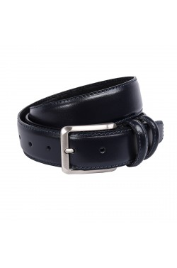 Blue Grease Natural Leather Belt for children