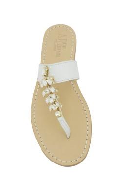 Sandalo gioiello Annamaria colore bianco