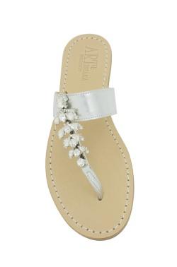 Sandalo gioiello Annamaria colore argento