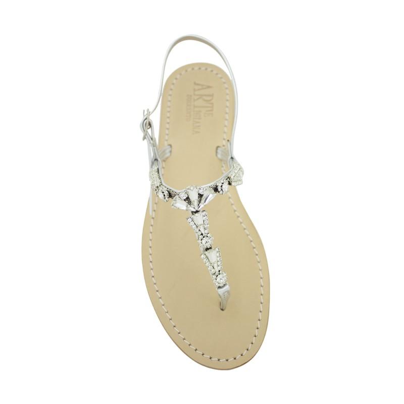 Sandali gioiello Valentina color argento