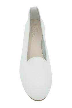 Pantofolina per bambina color bianco